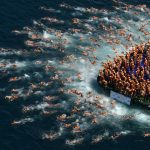 Bosphorus Cross-Continental Swimming race in Istanbul