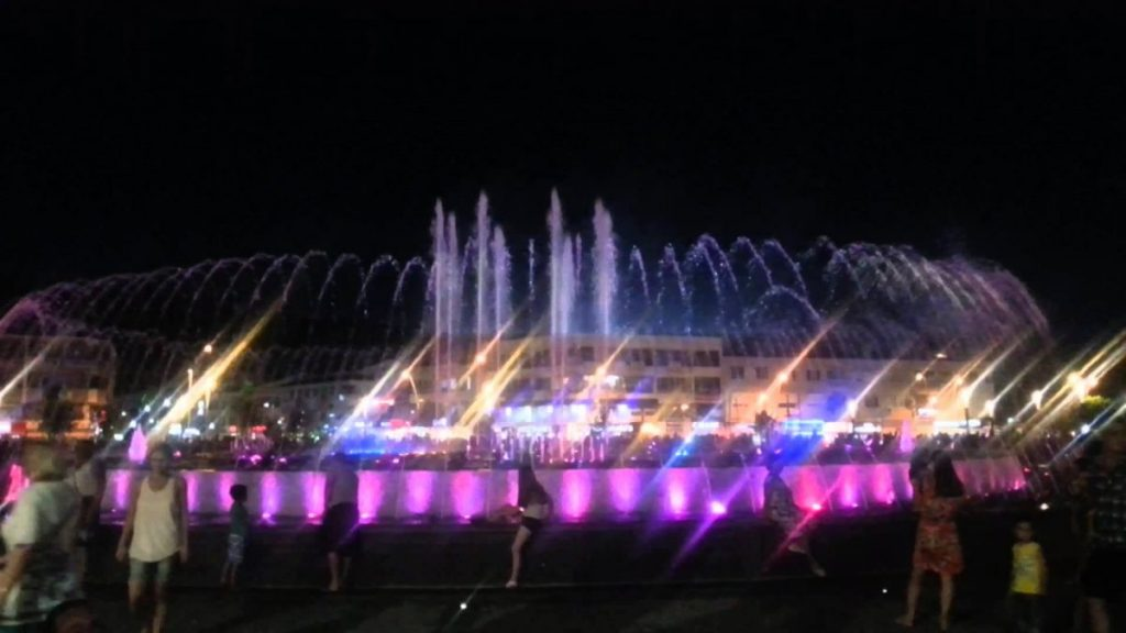 Marmaris Musical Dancing Fountain