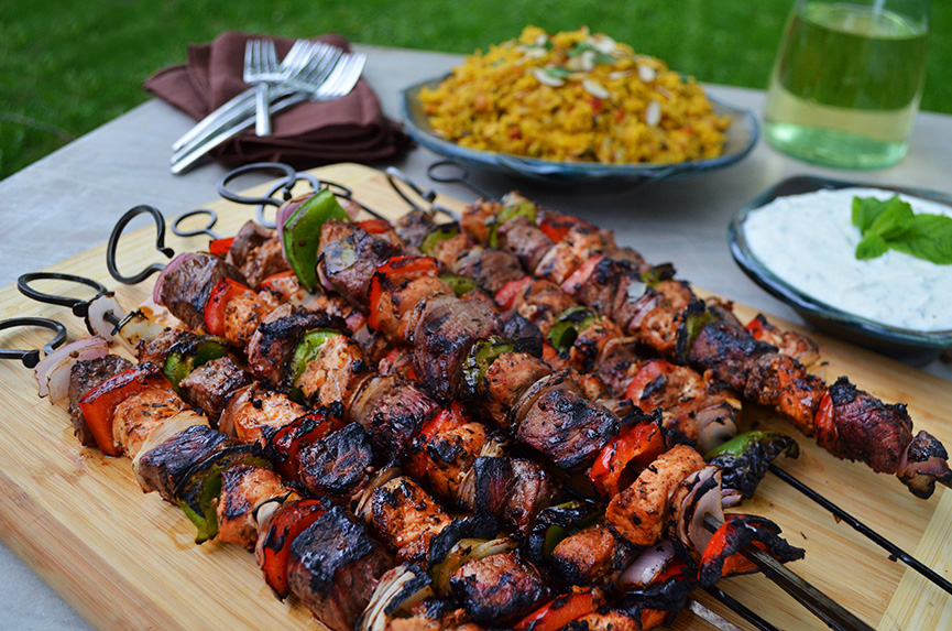 Turkish food - Shish-Kebab