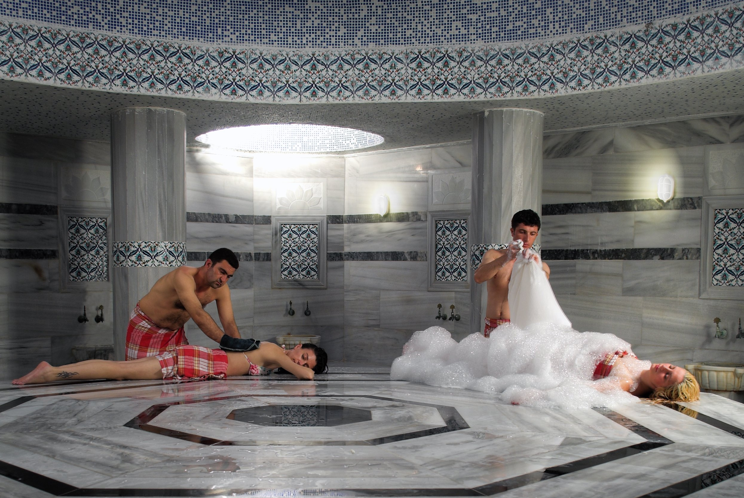 Turkish bath in Cappadocia